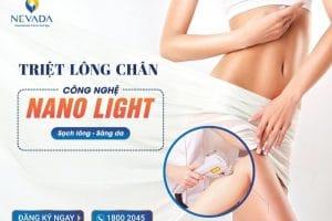 """Triệt lông chân CN Nano Light – """"Bái bai"""" vi-ô-lông cứng đầu"""