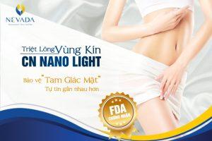 """Tẩy lông vùng kín CN Nano Light: Giúp bạn bảo vệ """"tam giác mật"""""""