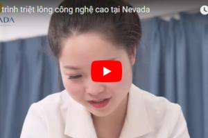 Video quy trình triệt lông công nghệ cao