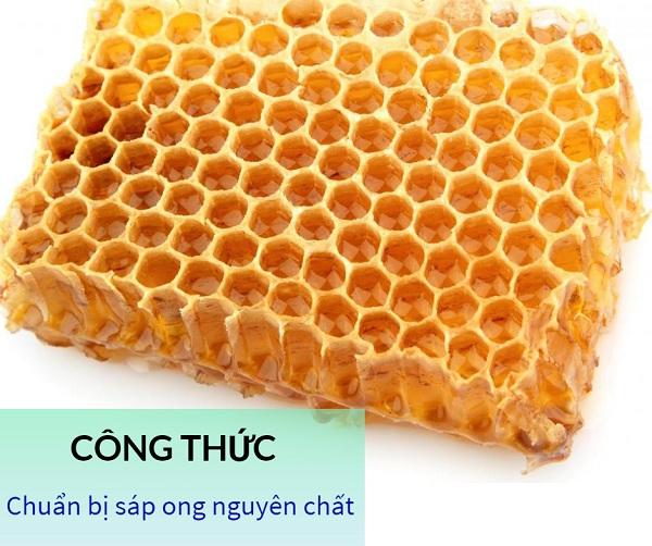tẩy lông tay bằng mật ong