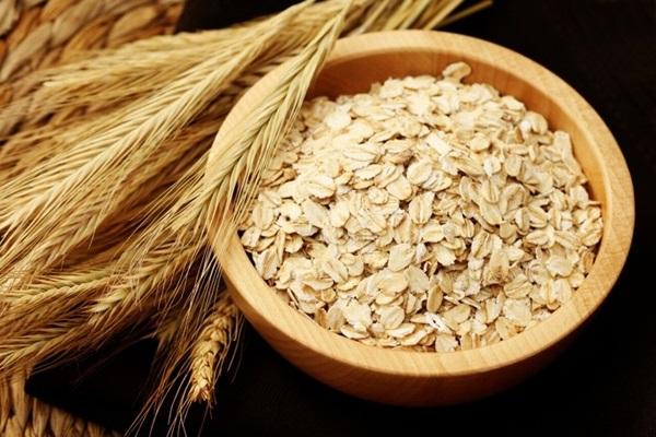 trị sẹo lõm bằng bột yến mạch