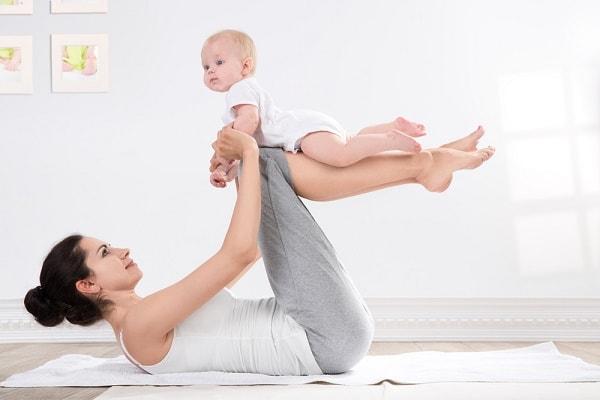 Giảm cân nhanh sau sinh
