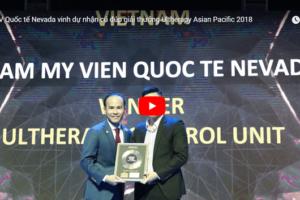 TMV Quốc tế Nevada vinh dự nhận cú đúp giải thưởng Ultherapy Asian Pacific 2018