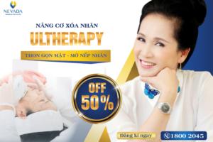 OFF 50% Nâng cơ xóa nhăn Ultherapy: Thon gọn mặt – Mờ nếp nhăn