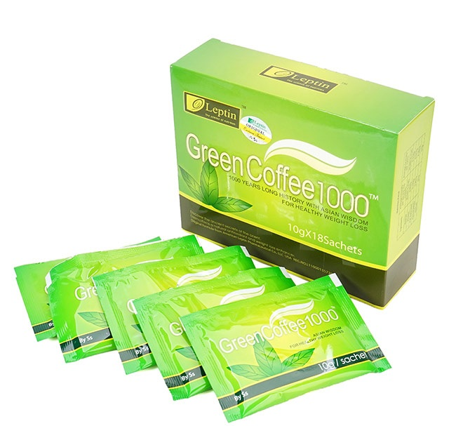 Trà giảm cân Green Coffee giá bao nhiêu tiền một hộp?