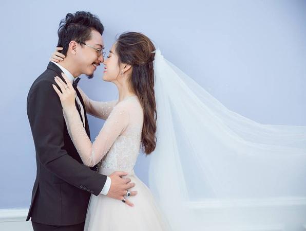 Danh hài Lâm Vỹ Dạ cùng chồng - diễn viên Hứa Minh Đạt