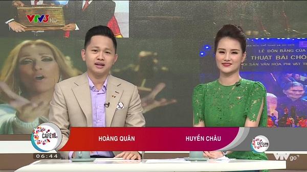 Huyền Châu - Nữ MC xinh đẹp của Cafe sáng VTV3
