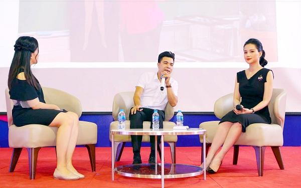 Là một người dẫn chương trình, Huyền Châu không cho phép bản thân không tự tin mỗi khi lên sóng