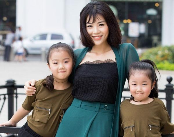 Thanh Hương đã là mẹ của hai nhóc tì đáng yêu, xinh xắn