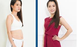 Diễn viên hài Lâm Vỹ Dạ giảm béo