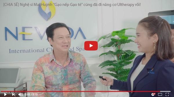 Nghệ sĩ Mai Huỳnh chia sẻ cảm nhận sau khi kết thúc quá trình nâng cơ Ultherapy tại TMV Nevada