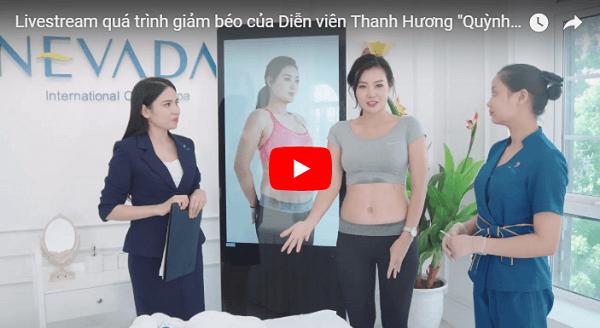 Diễn viên Thanh Hương giảm béo bằng công nghệ Max Burn Lipo
