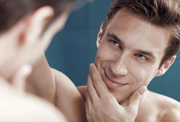 tẩy lông mặt cho nam