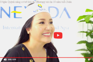 Ngân Quỳnh Livestream bật mí bí quyết trẻ hóa 10 tuổi là nhờ Ultherapy