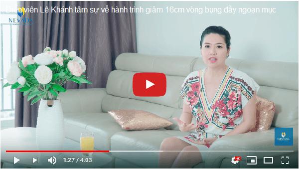 Cùng diễn viên Lê Khánh trải nghiệm phương pháp giảm béo an toàn