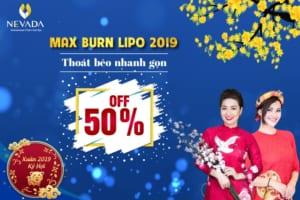 [Giá SHOCK chỉ còn 5 triệu] Giảm cân Max Burn Lipo – Giảm 25cm eo thon chuẩn S
