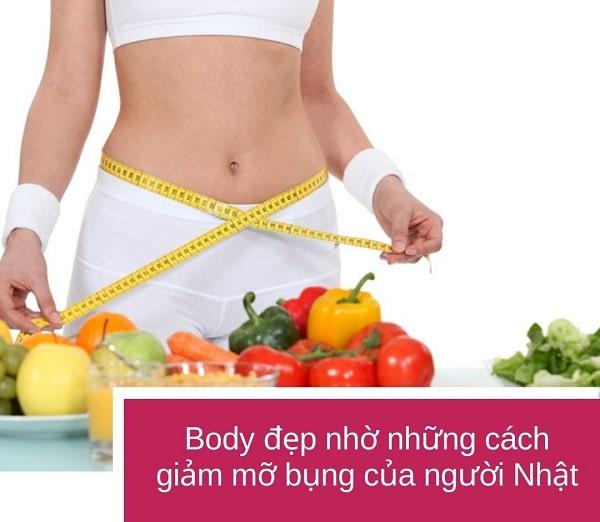 cách đi bộ giảm mỡ bụng của người nhật, cách đi bộ giảm mỡ bụng