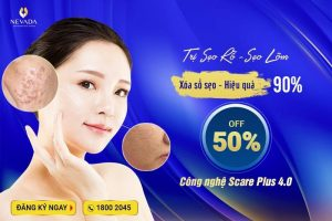OFF 50% Trị sẹo lõm sẹo rỗ công nghệ Scare Plus 4.0 xóa sổ sẹo