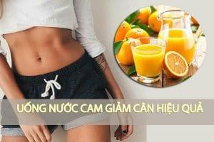 Uống nước cam có giảm cân không? Nên uống bao nhiêu nước cam mỗi ngày?