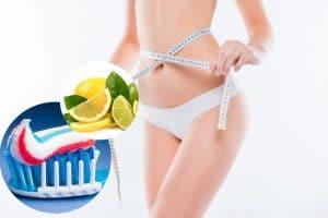 Thon gọn 3cm vòng 2 với cách giảm mỡ bụng bằng kem đánh răng, gừng, hành tây,muối tại nhà