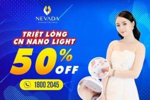 [49K SIÊU ƯU ĐÃI] Triệt lông CN Nano Light: Sạch lông – Tự tin diện đẹp