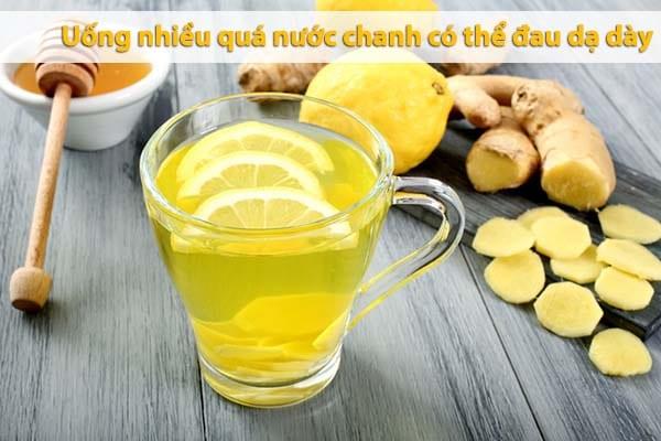 cách giảm béo mỡ bụng bằng uống nước chanh tươi mật ong giảm mỡ bụng có hại gì không