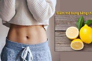 Giảm ĐẾN 8cm vòng bụng với cách uống nước chanh giảm mỡ bụng hiệu quả mỗi ngày