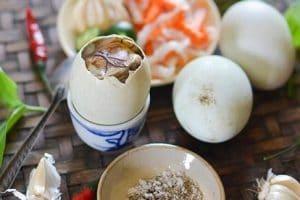 Ăn trứng vịt lộn có tăng cân không? Cách ăn hột vịt lộn đúng cách