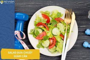 1 đĩa salad dưa chuột bao nhiêu calo? Tiết lộ 8 cách làm salad dưa chuột giảm cân đơn giản mà hiệu quả