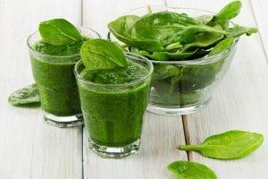 Thực hư chuyện nước ép cải bó xôi giảm cân gọn dáng