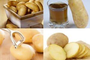 Cách làm nước ép khoai tây giảm mỡ bụng cho nàng sớm sở hữu eo thon