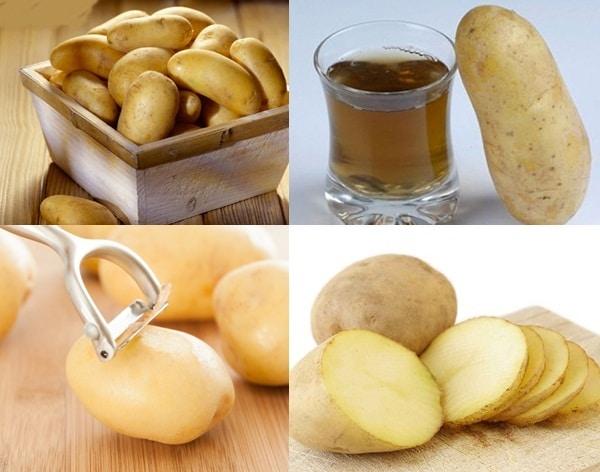Cách làm nước ép khoai tây giảm mỡ bụng