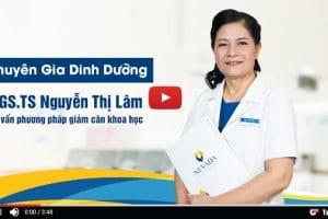 Lắng nghe chuyên gia dinh dưỡng PGS.TS Nguyễn Thị Lâm tư vấn về phương pháp giảm béo khoa học