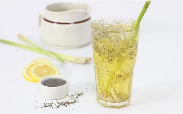 giảm mỡ bụng bằng nước sả, cách giảm mỡ bụng bằng sả, Uống nước sả giảm cân webtretho, Cách làm nước sả uống giảm cân