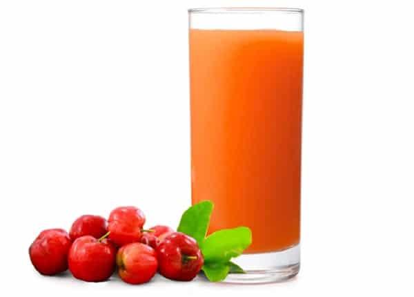 Nước ép sơ ri có giảm cân không