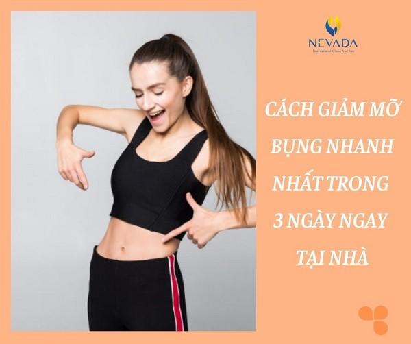 bí quyết làm giảm mỡ bụng đúng cách, an toàn, cách chữa trị mỡ bụng nhỏ nhanh nhất