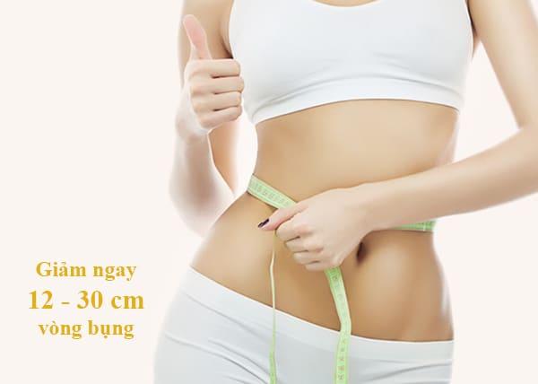 Công nghệ giảm béo Max Burn Lipo giảm từ 12 -30cm vòng bụng