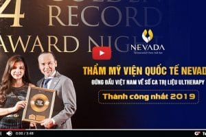 Thẩm mỹ viện Quốc tế Nevada vinh dự đón nhận giải thưởng lớn về công nghệ Ultherapy