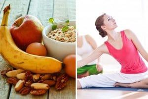 """Chế độ ăn giảm cân cho người tập yoga """"đẹp hết nấc giảm cân hết sức"""""""