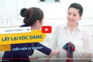 """Diễn viên Lê Khánh: """"Giảm béo giúp Khánh lấy lại tự tin khi đối diện với ông xã"""""""