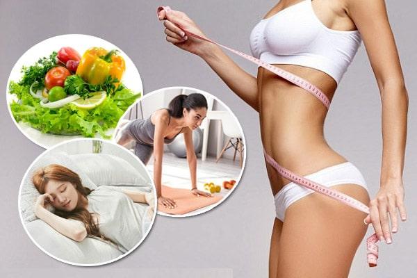 Hướng dẫn các cách giảm cân tại nhà tốt và đơn giản nhất
