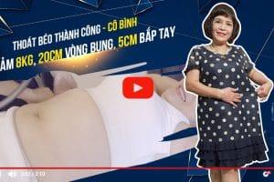 Cấp cứu 5 lần một tuần vì những hệ lụy thừa cân béo phì gây ra, cô Bình đã nhờ cậy đến công nghệ giảm béo