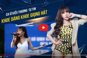 Ca sĩ Kiều Thương rơi nước mắt kể chuyện khủng hoảng tăng cân sau sinh