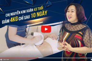 Chị Kim Xuân giảm 4kg mỡ thừa chỉ trong 10 ngày – sự thật tưởng chừng không tưởng