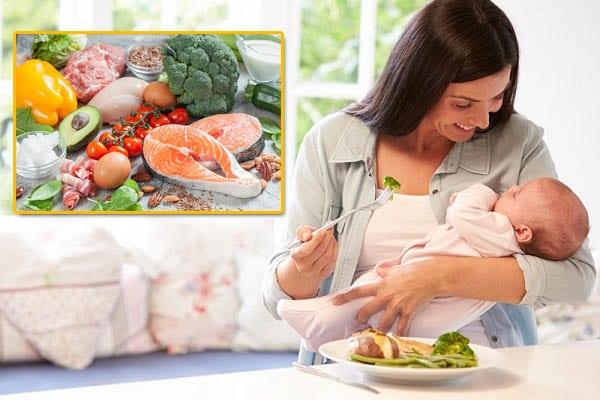 Thực đơn low carb cho mẹ sau sinh