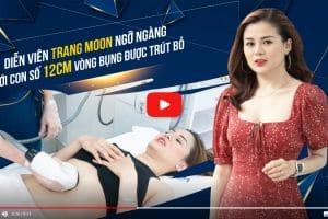 Diễn viên Trang Moon ngỡ ngàng khi giảm đến 14cm vòng bụng nhờ CN Max Burn Lipo