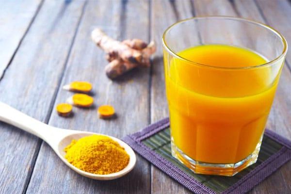 Uống tinh bột nghệ giúp giảm cân hiệu quả