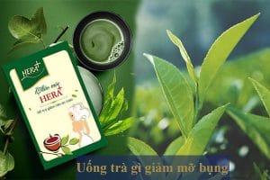 Uống trà gì để giảm mỡ bụng? 9 loại trà giảm mỡ bụng cho nữ hiệu quả nhất
