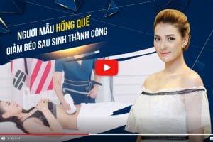 Trải nghiệm quy trình giảm béo của siêu mẫu Hồng Quế