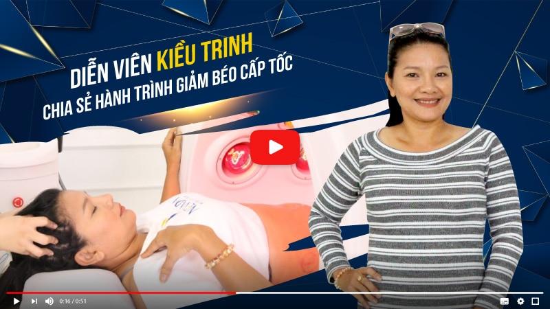 Diễn viên Kiều Trinh trải lòng về hành trình giảm béo Max Burn Lipo tại TMV Nevada